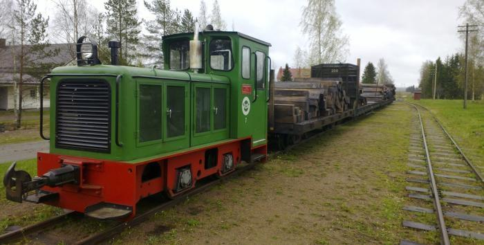 Track work going on until October at Jokioinen Museum Railway