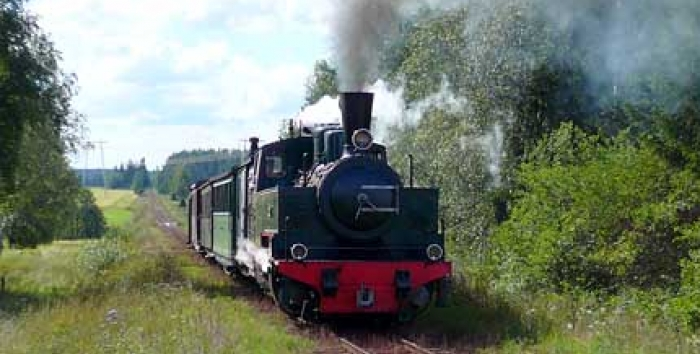 Orion JR5 steam locomotive