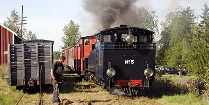 HKR5 steam locomotive